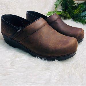 DANSKO clog brown size  7 shoes